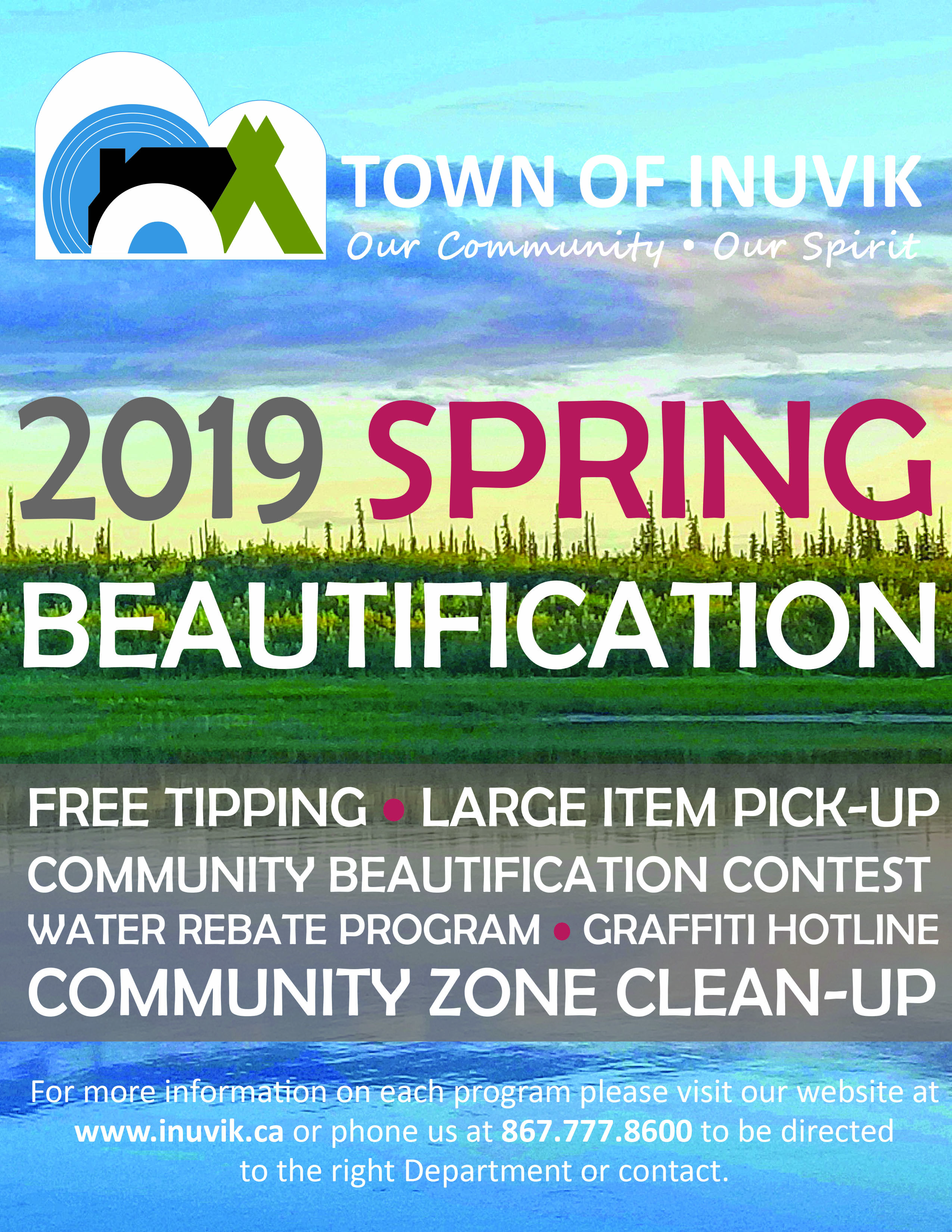 2019 TOI Spring Beautification