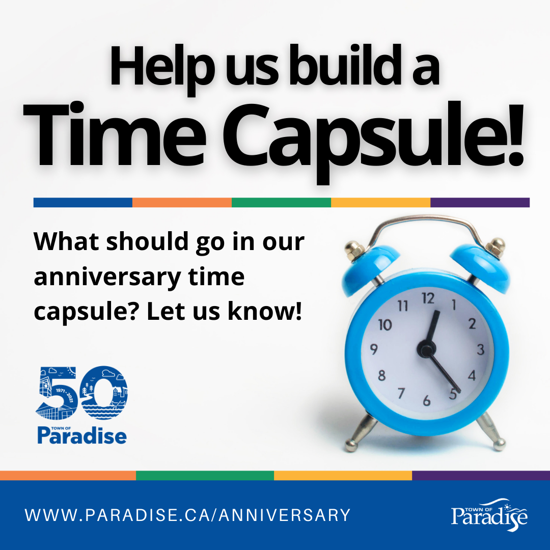 Help Us Build Our 50th Anniversary Time Capsule