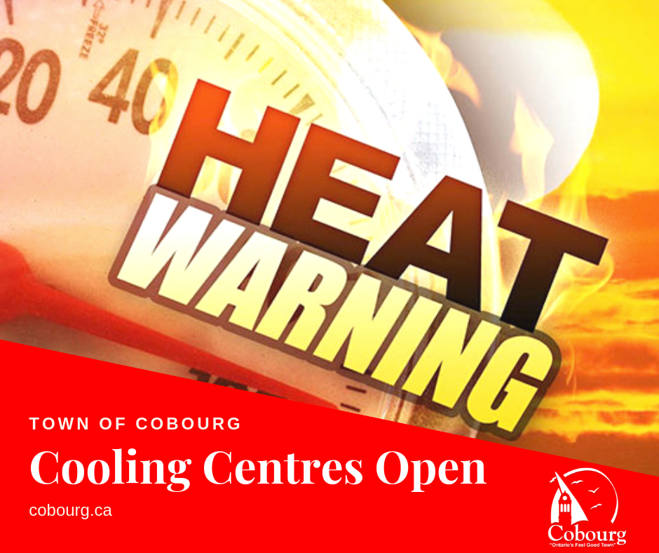 Heat Warning - Town of Cobourg