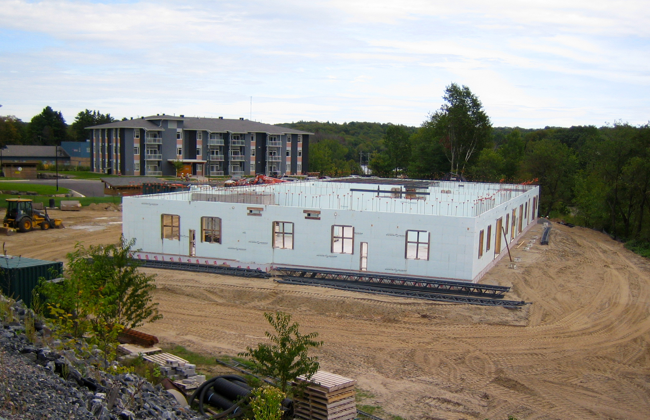 Silver Birch Condos built by Distler Construction