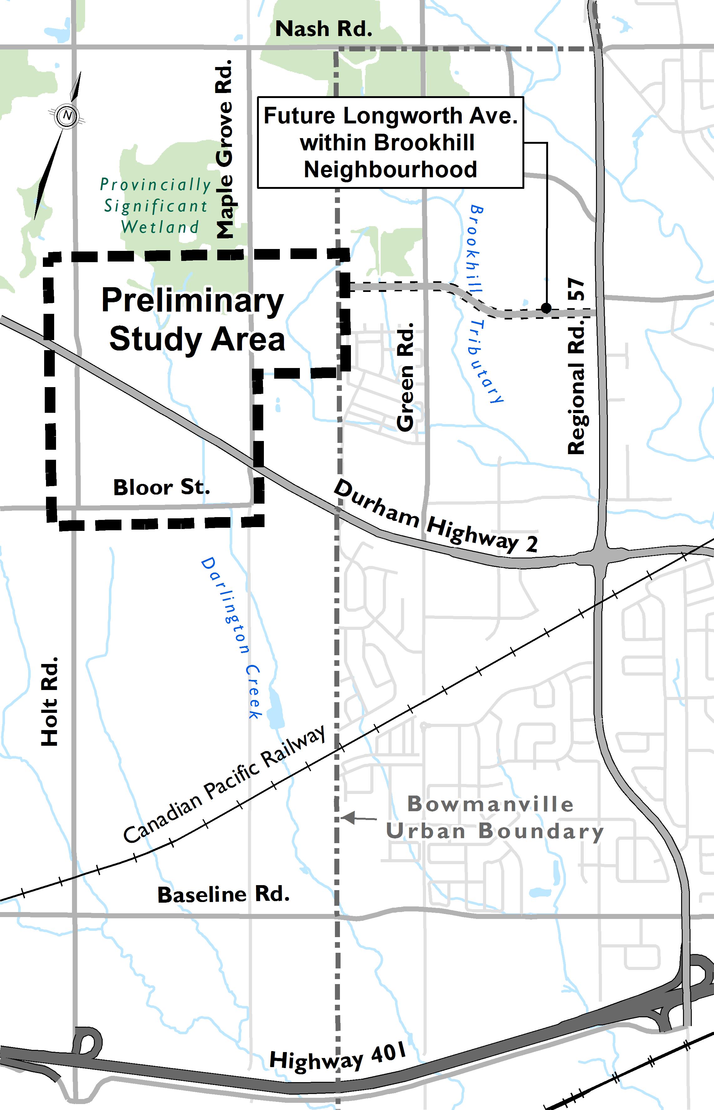Environmental Assessment Study Area