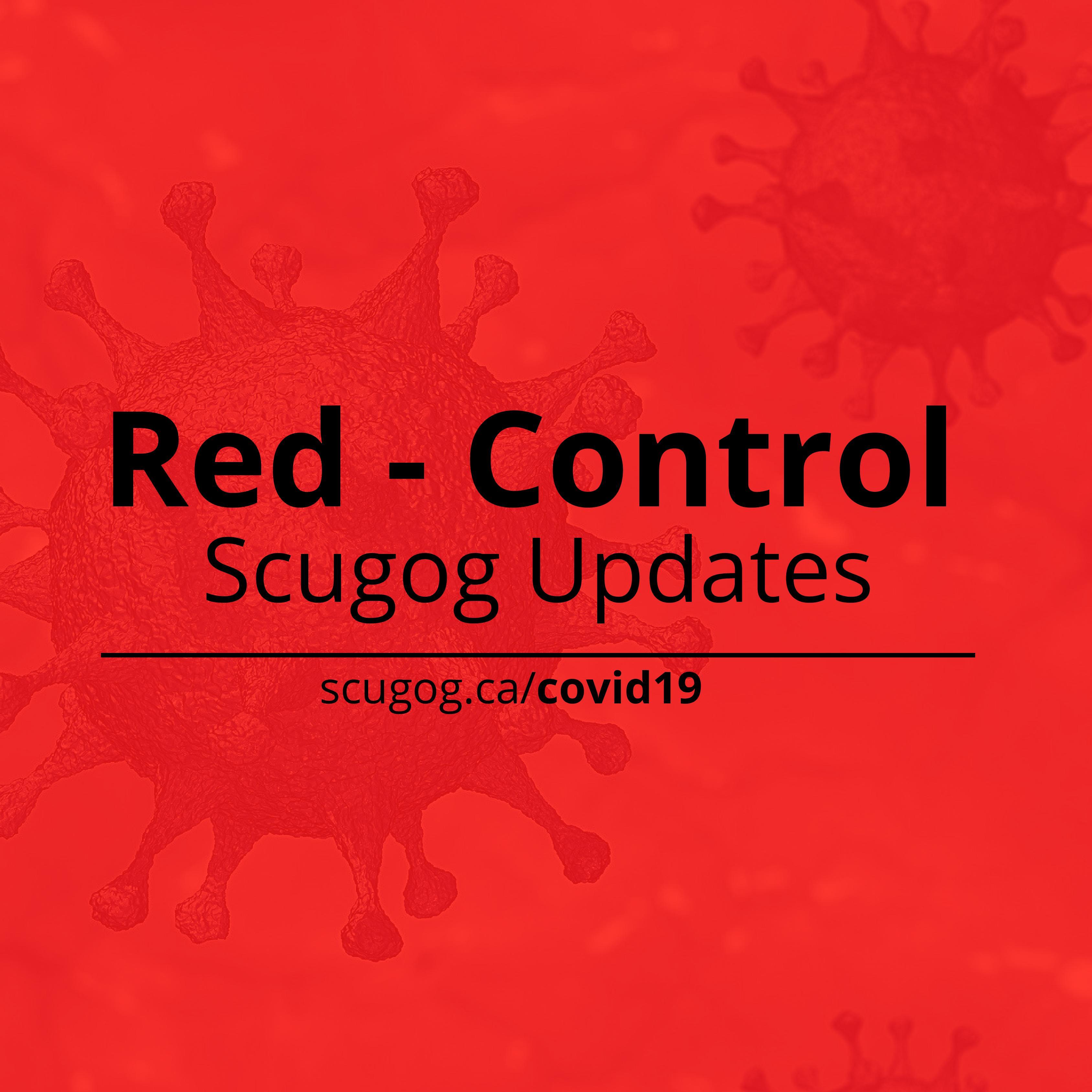 Red Control Scugog Updates