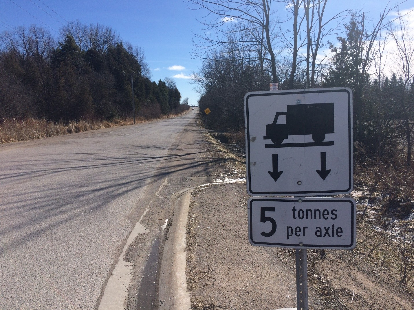 Vehicle Weight Restrictions