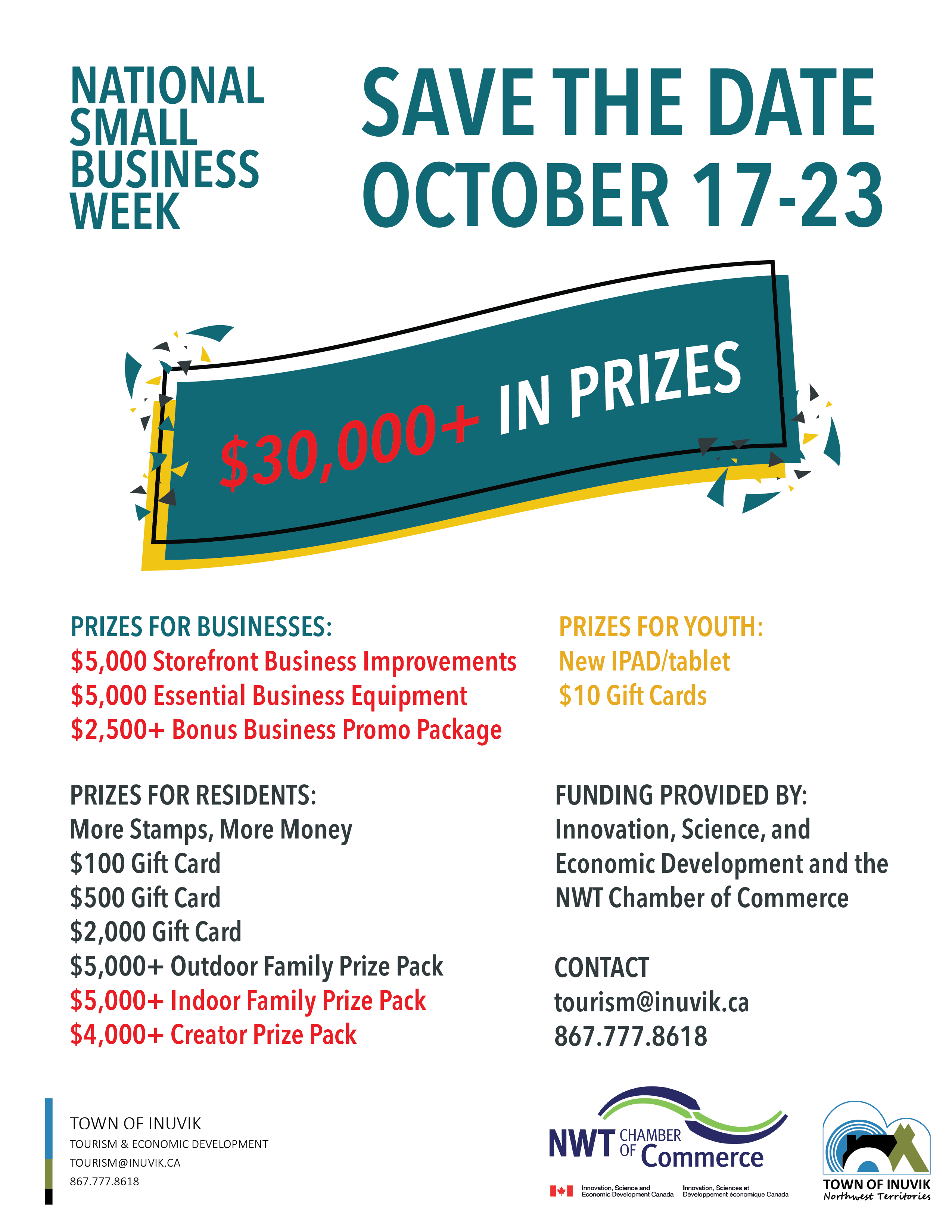 SMALL BUSINESS WEEK PRIZES