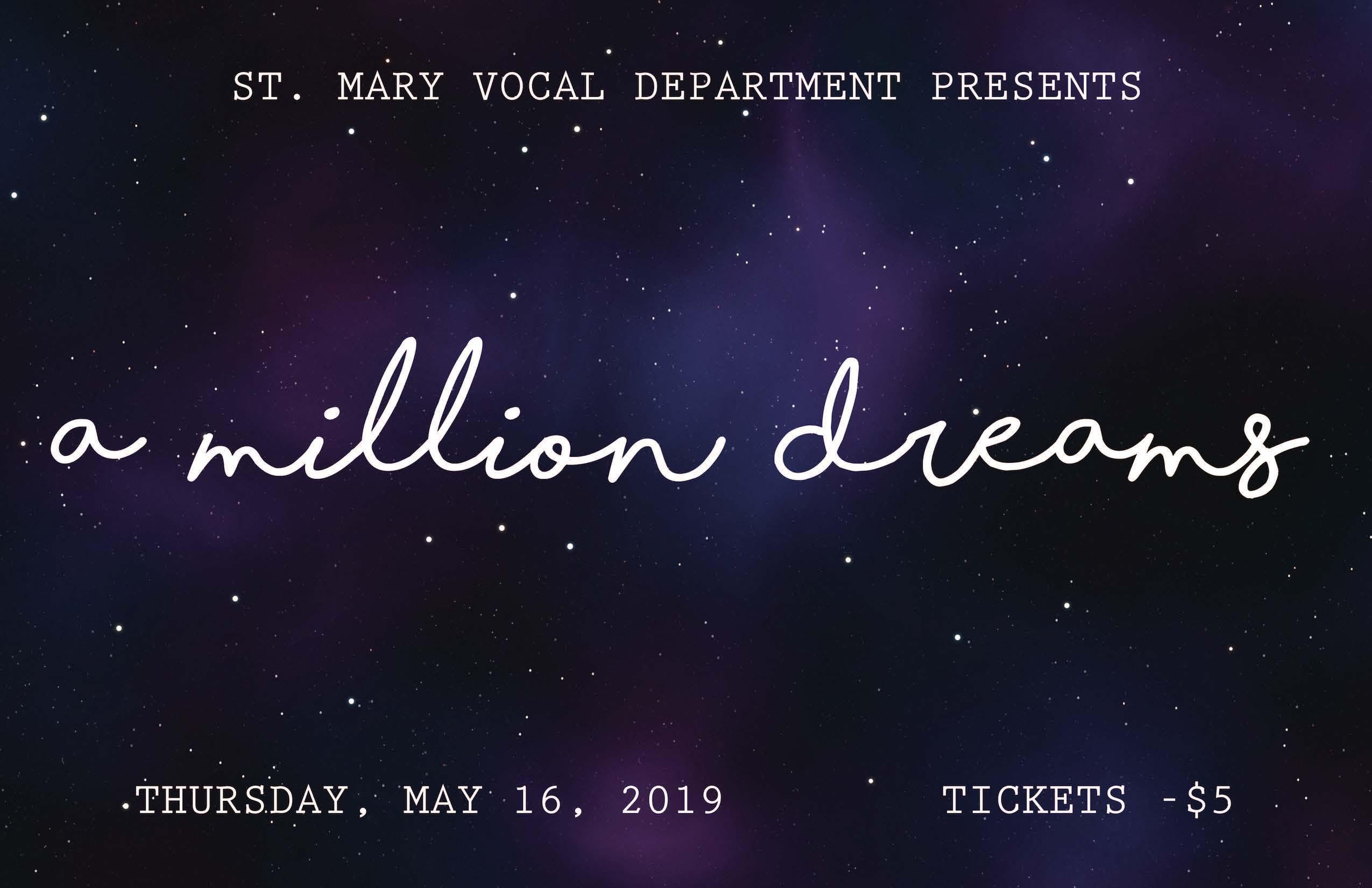 Vocal Spring Concert 2019