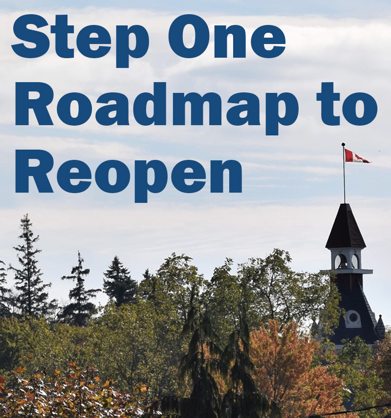 Step 1 roadmap to reopen