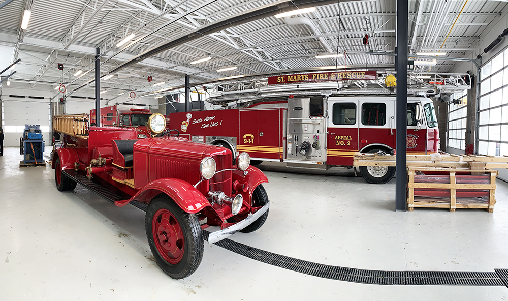 The St Marys Fire Department officially moved into the newly renovated fire hall on Saturday, February 13, 2021.