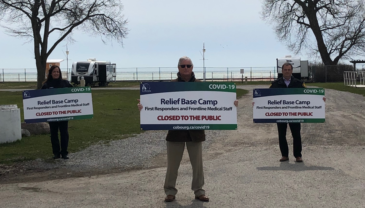 Base Camp Signs