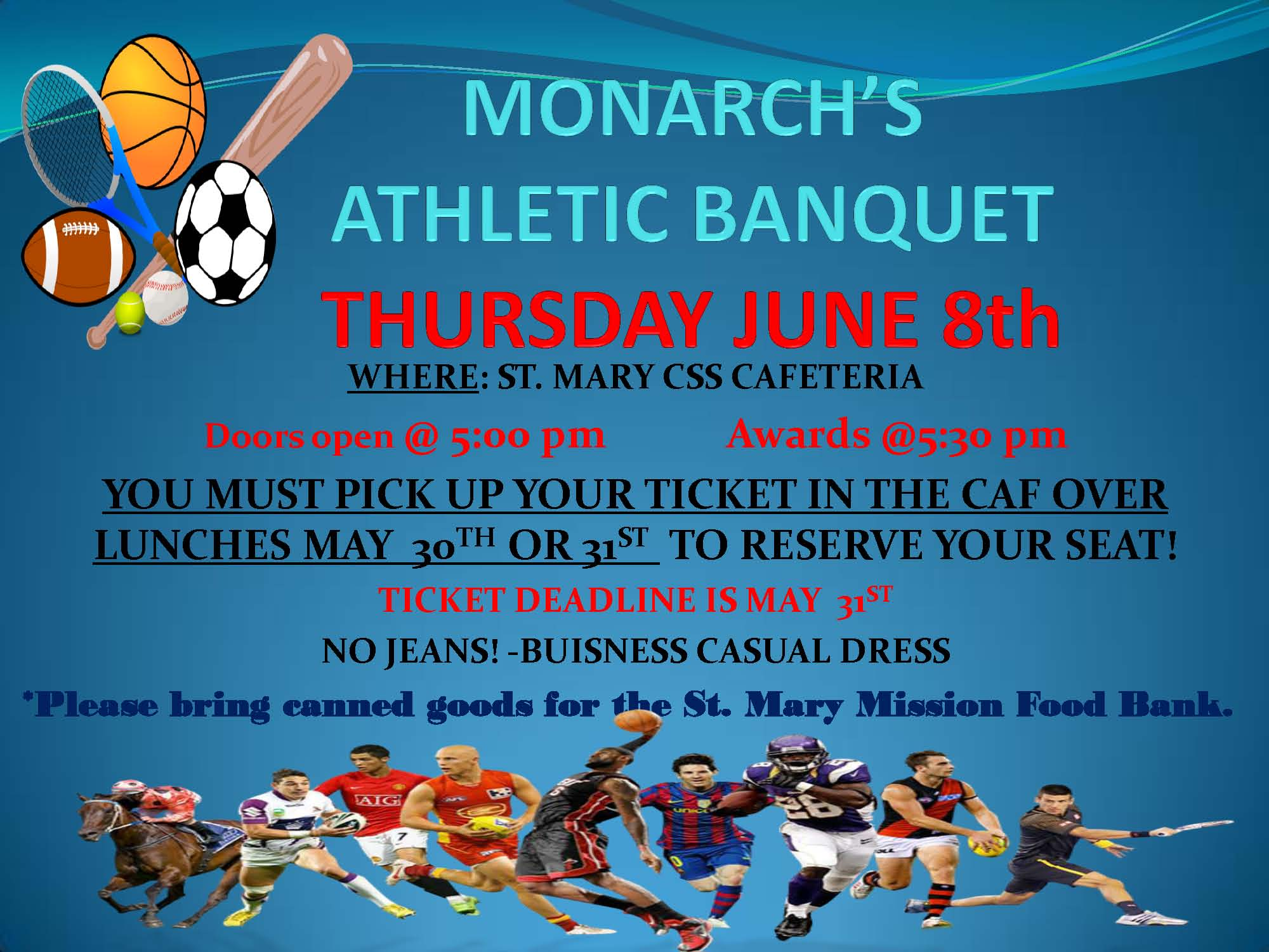 Monarch Athletic Banquet