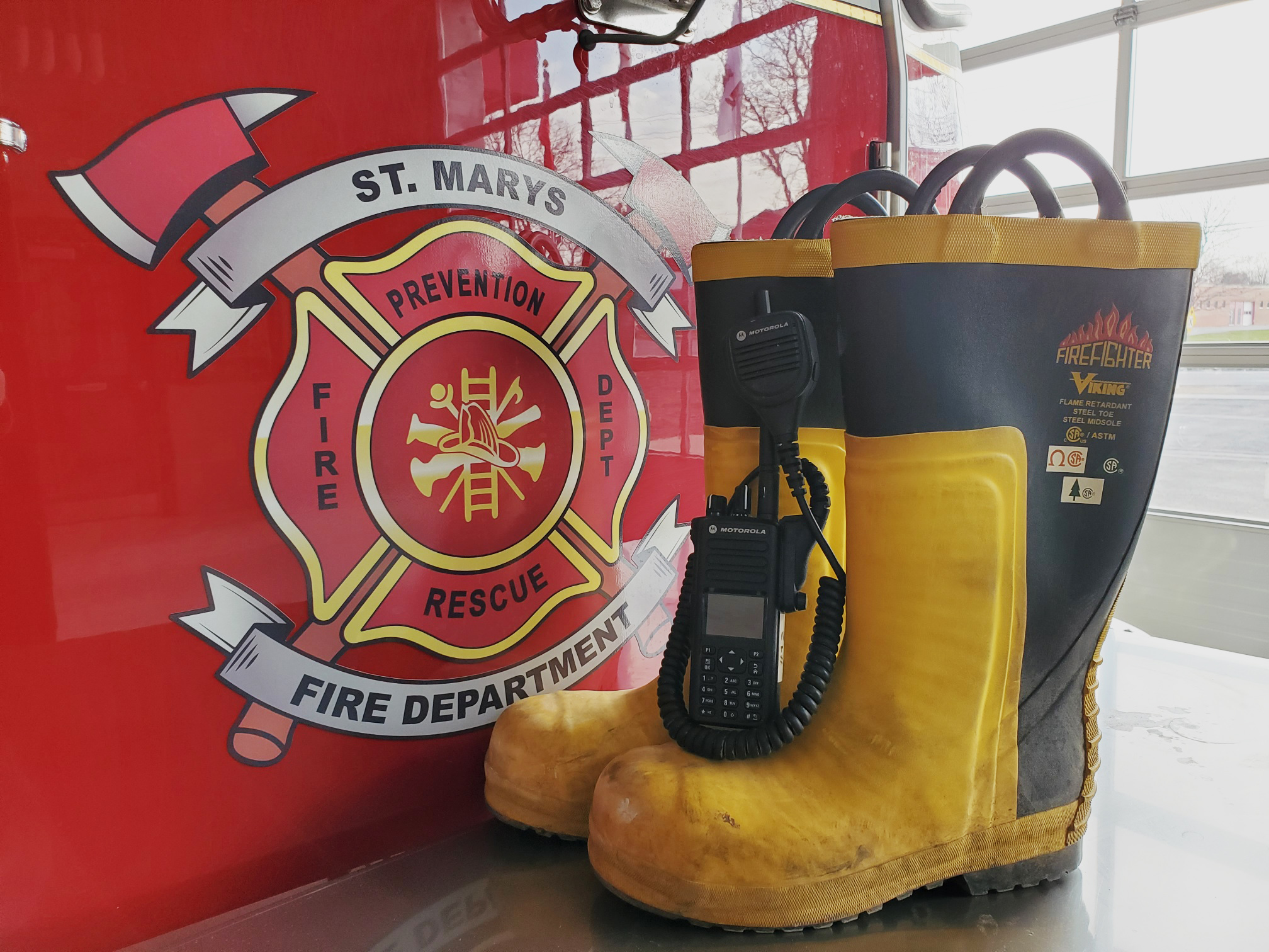 Donation will help buy new boots and communications equipment