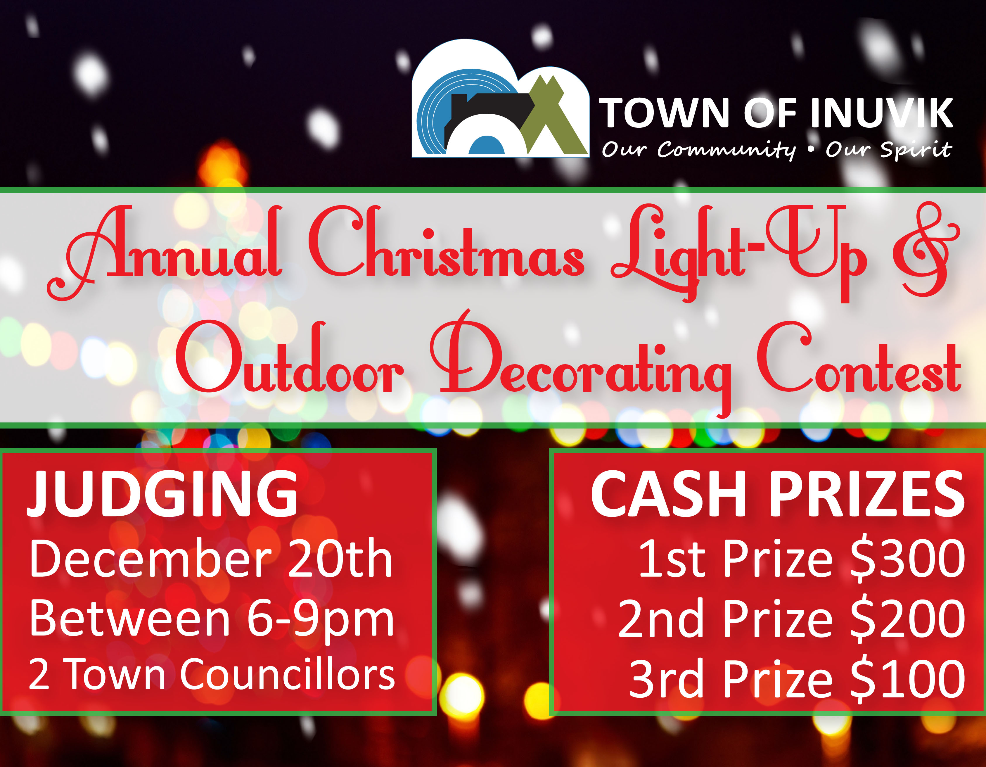 2018 Christmas Light-up & Outdoor Decorating Contest