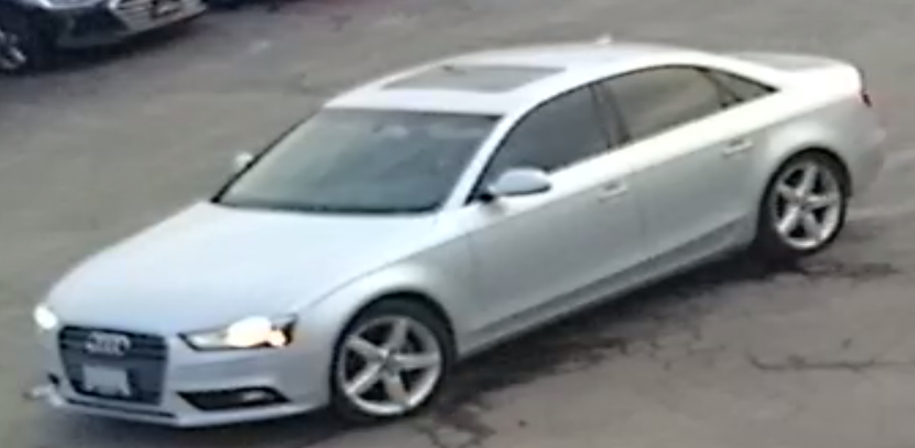 This is an image of the suspect vehicle