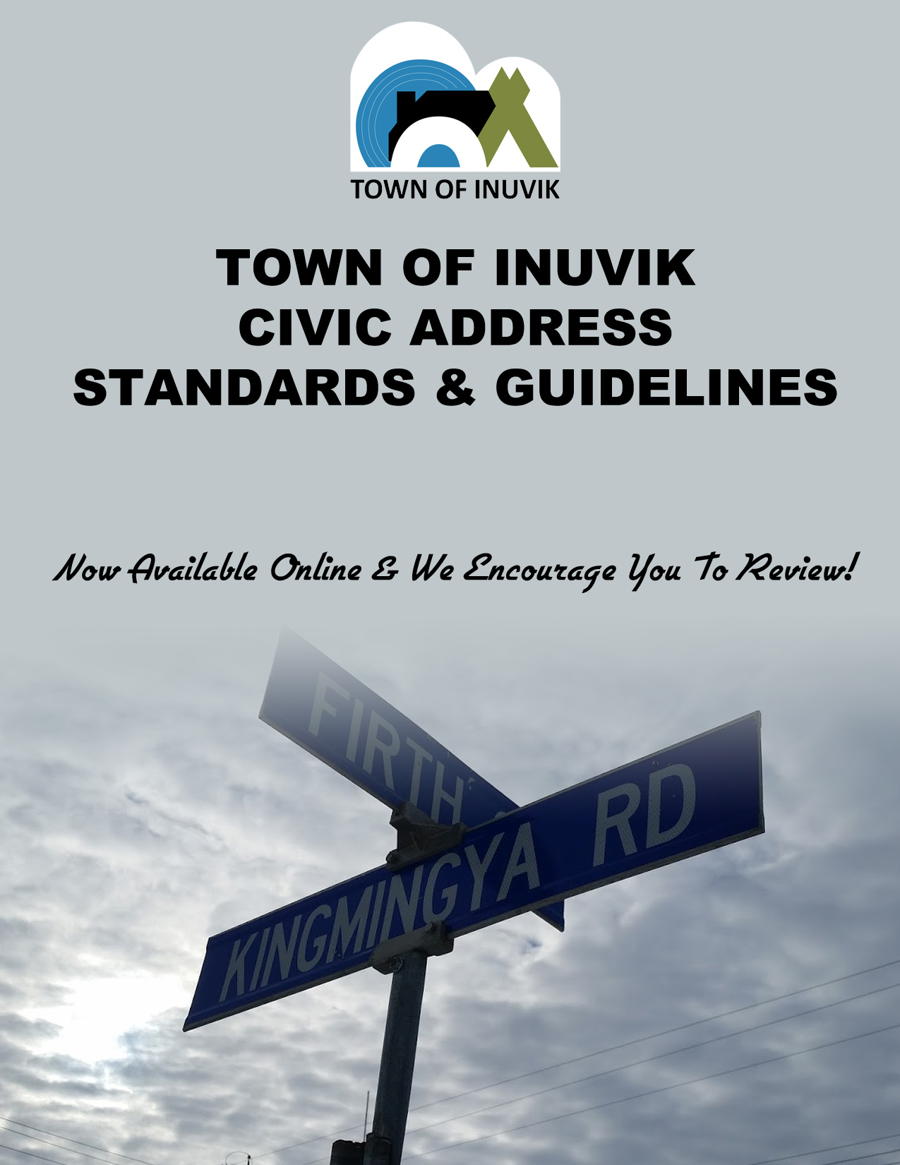 TOWN OF INUVIK CIVIC ADDRESS STANDARDS & GUIDELINES