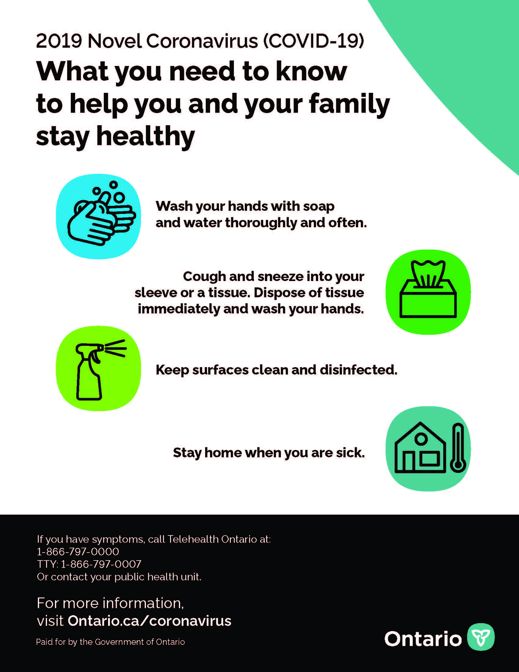 Novel Coronavirus - Helping you and your family stay healthy