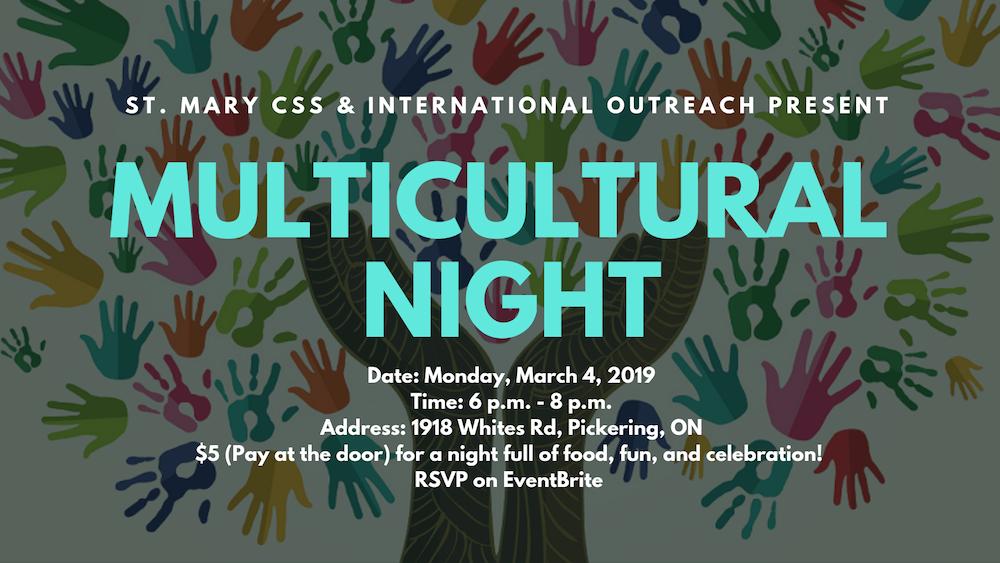 Multicultural Night 2019
