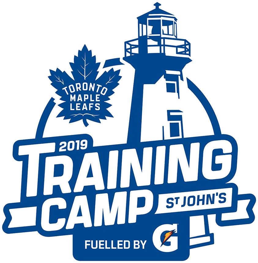 Toronto Maple Leafs Training Camp Logo