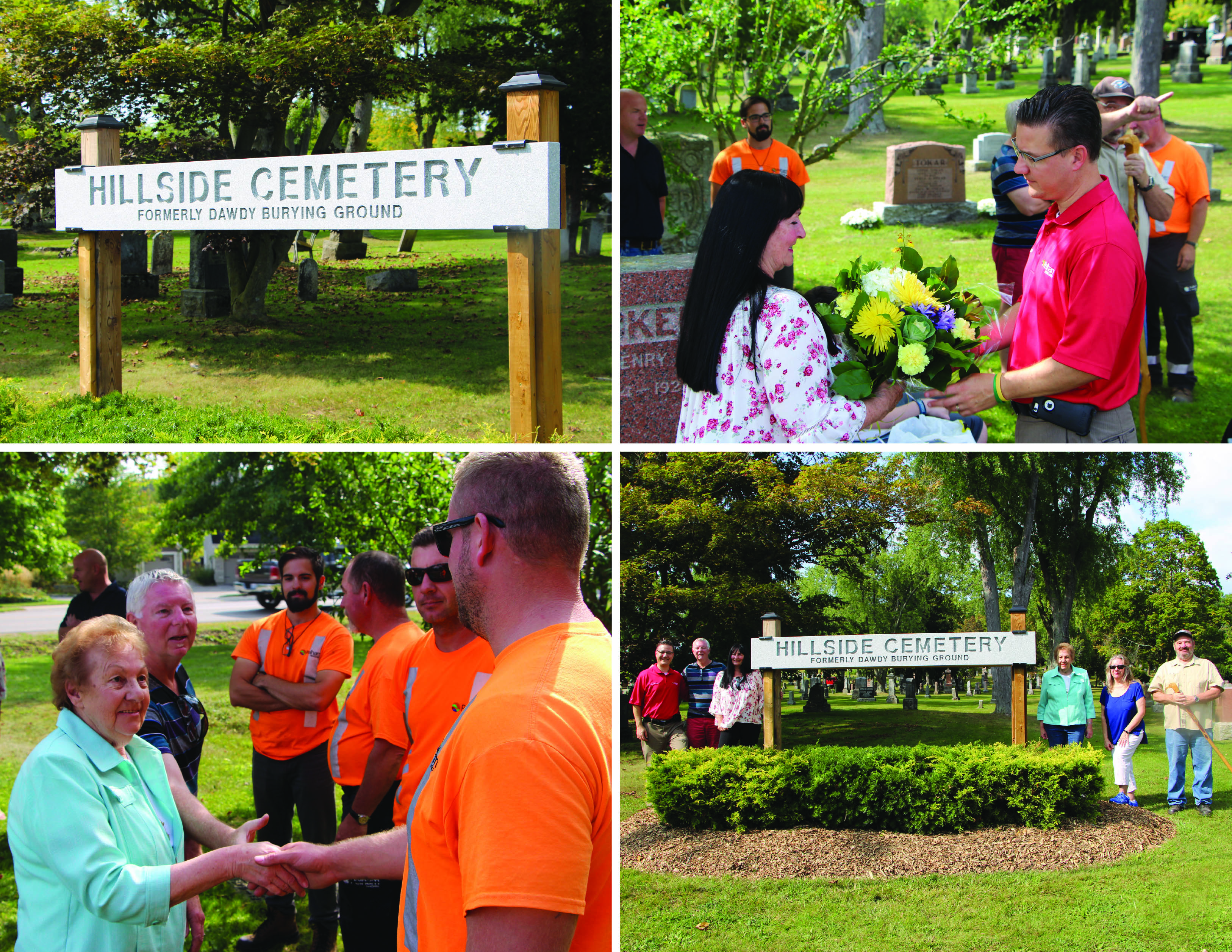 hillside cemetery photo group