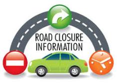 road closure icon
