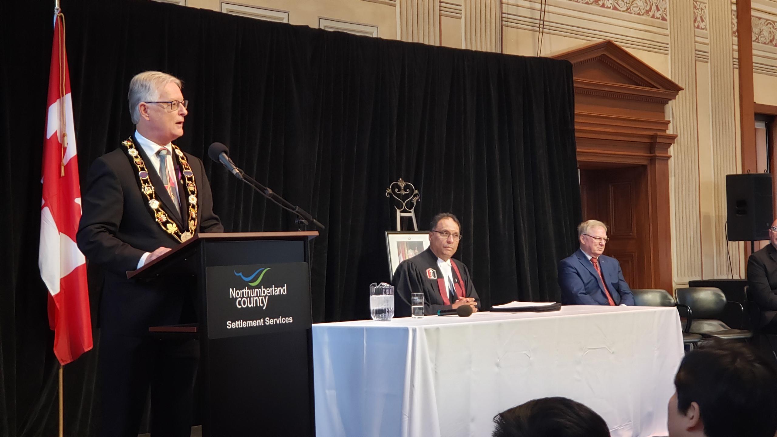 Mayor Henderson Speaking