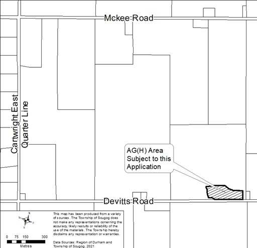 4471 Devitts Road Location Map