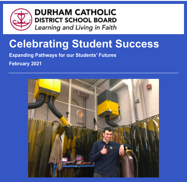 Heading from February 2021 Celebrating Student Success Newsletter