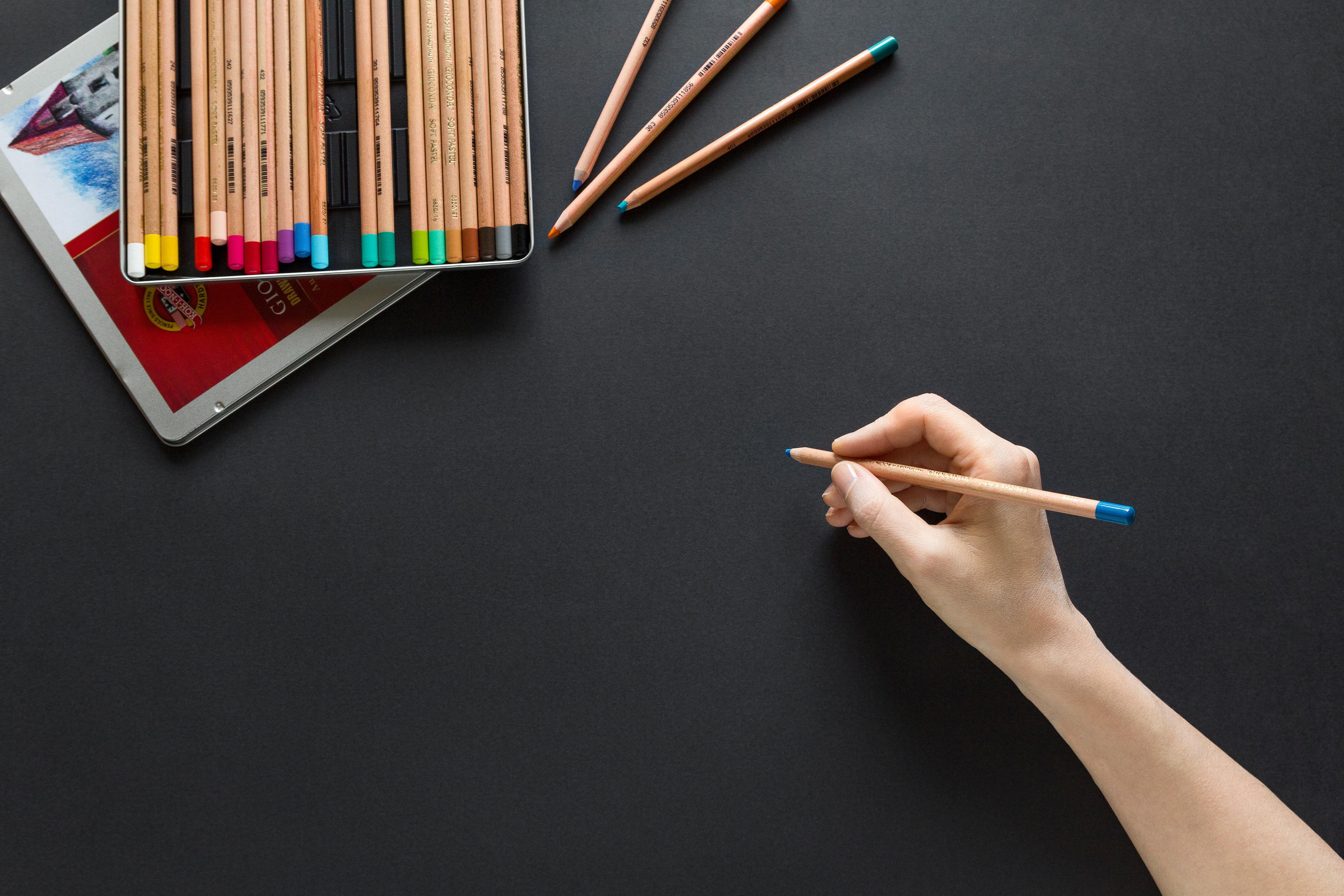 Photo of drawing board