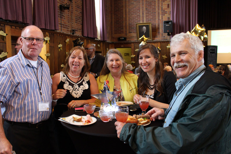 Volunteers attend 'A night among the stars' volunteer recognition event