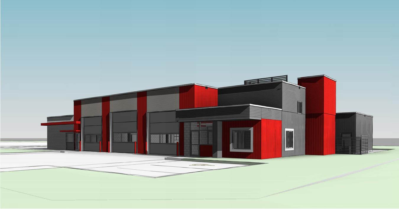 St. Marys Fire Hall rendering