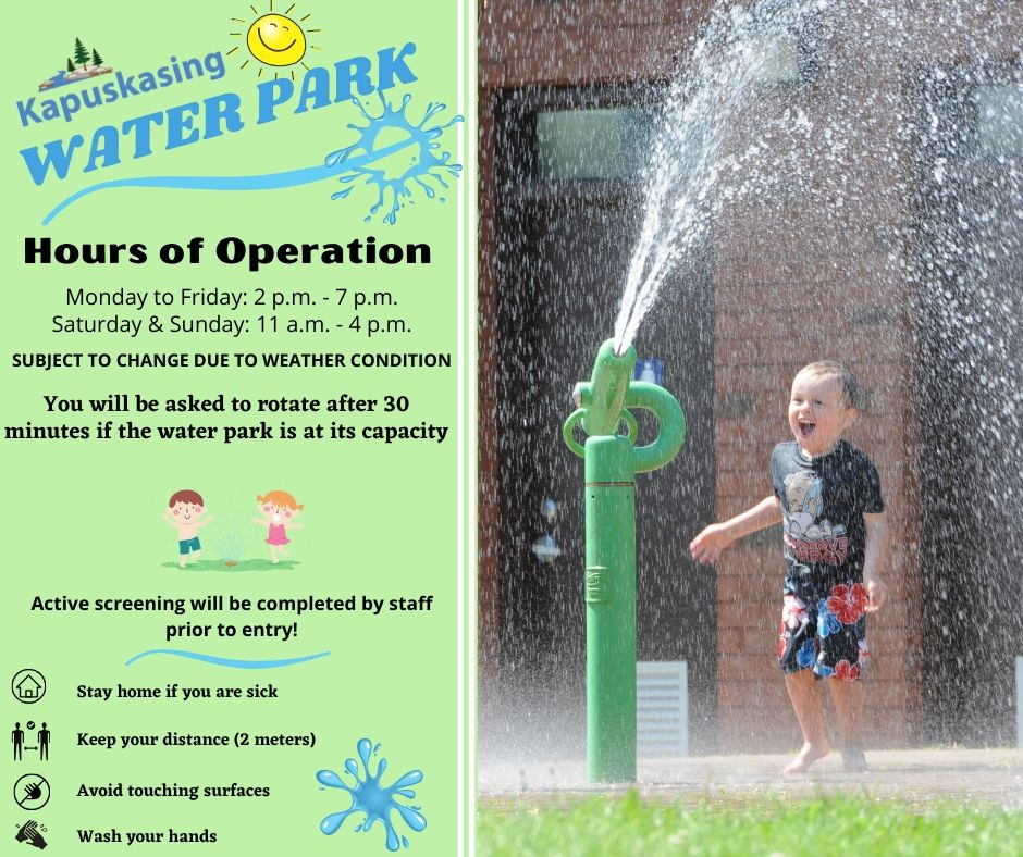 Water Park Opening
