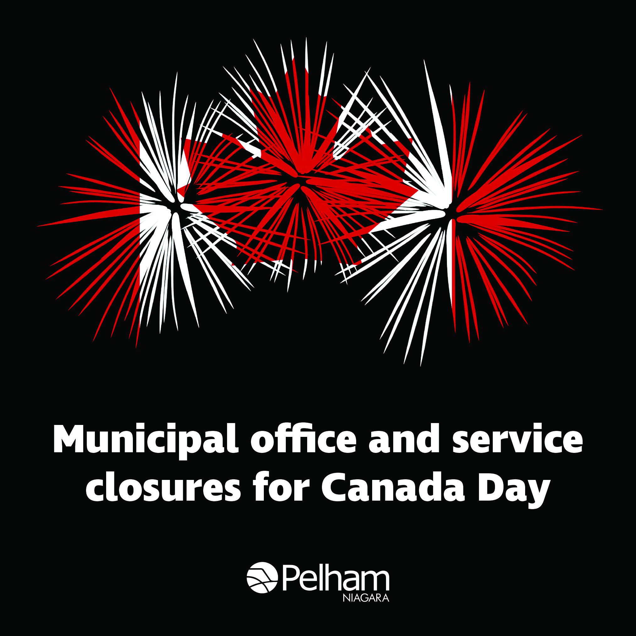canada day closures