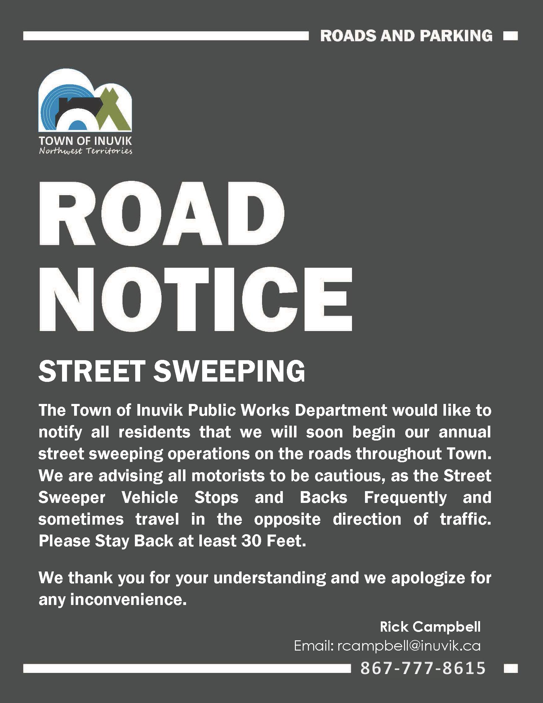 Street Sweeping 2019