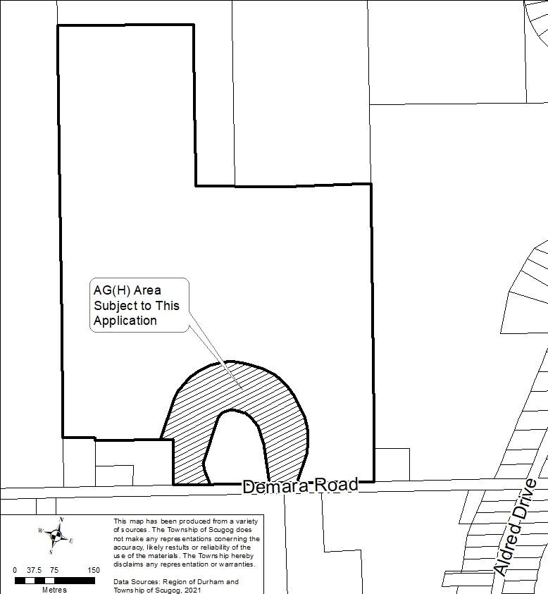 3157 Demara Rd.  Key Map