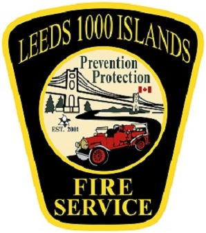 Leeds 1000 Islands Fire Service Logo