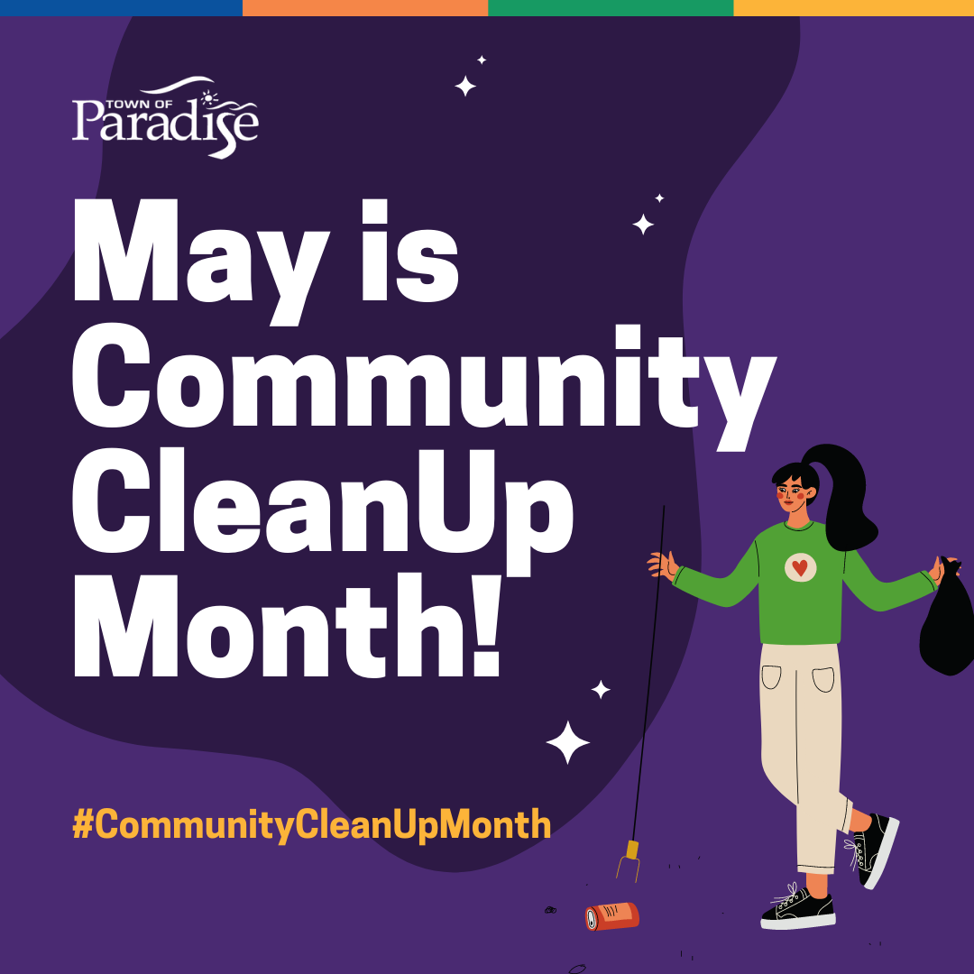 May Is Community Cleanup Month!