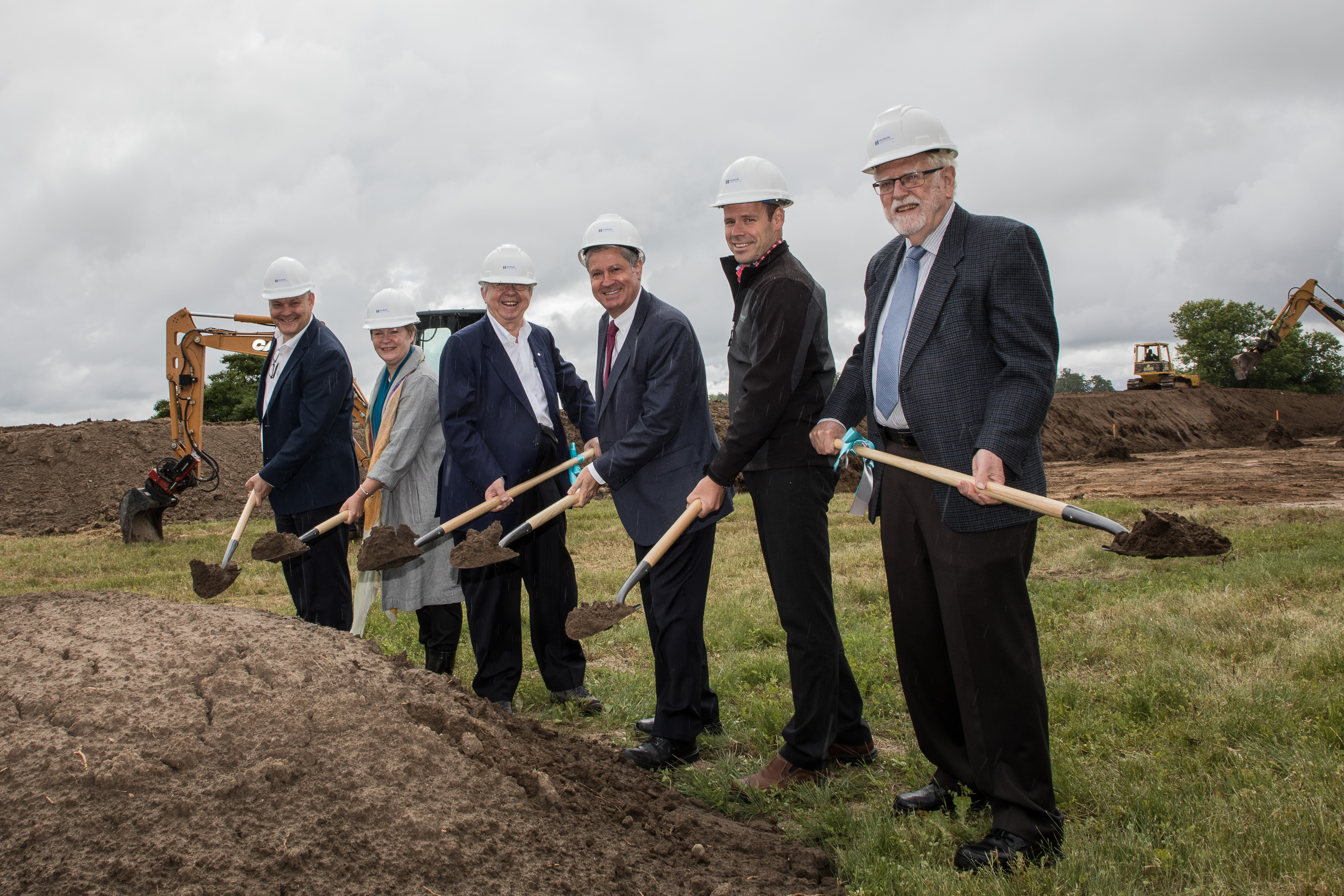 Huron Digital Ground Breaking