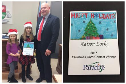 christmas card contest winner 2017 2