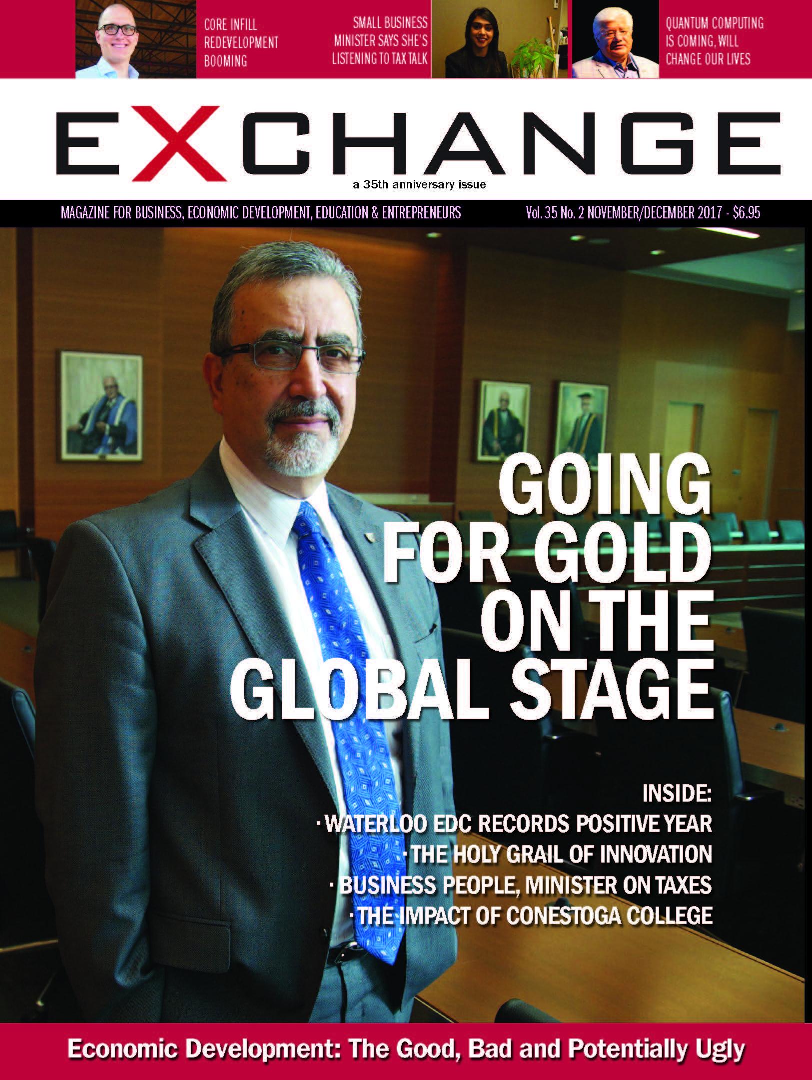 Cover of Exchange Magazine