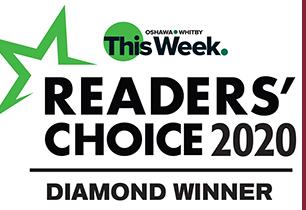 Diamond Award winner for Oshawa Whitby Readers Choice Awards for Adult Education