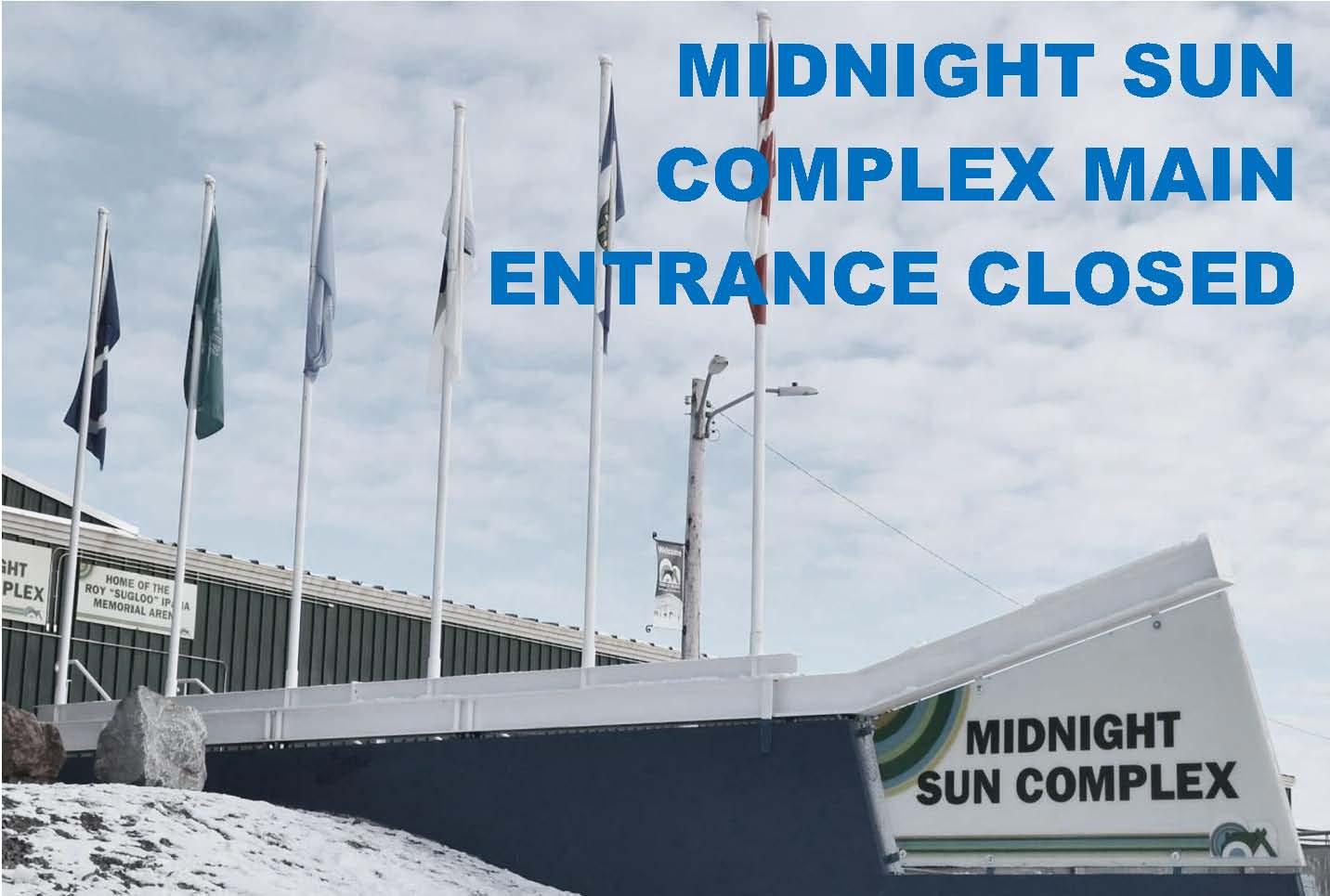 MSC Front Entrance Closed