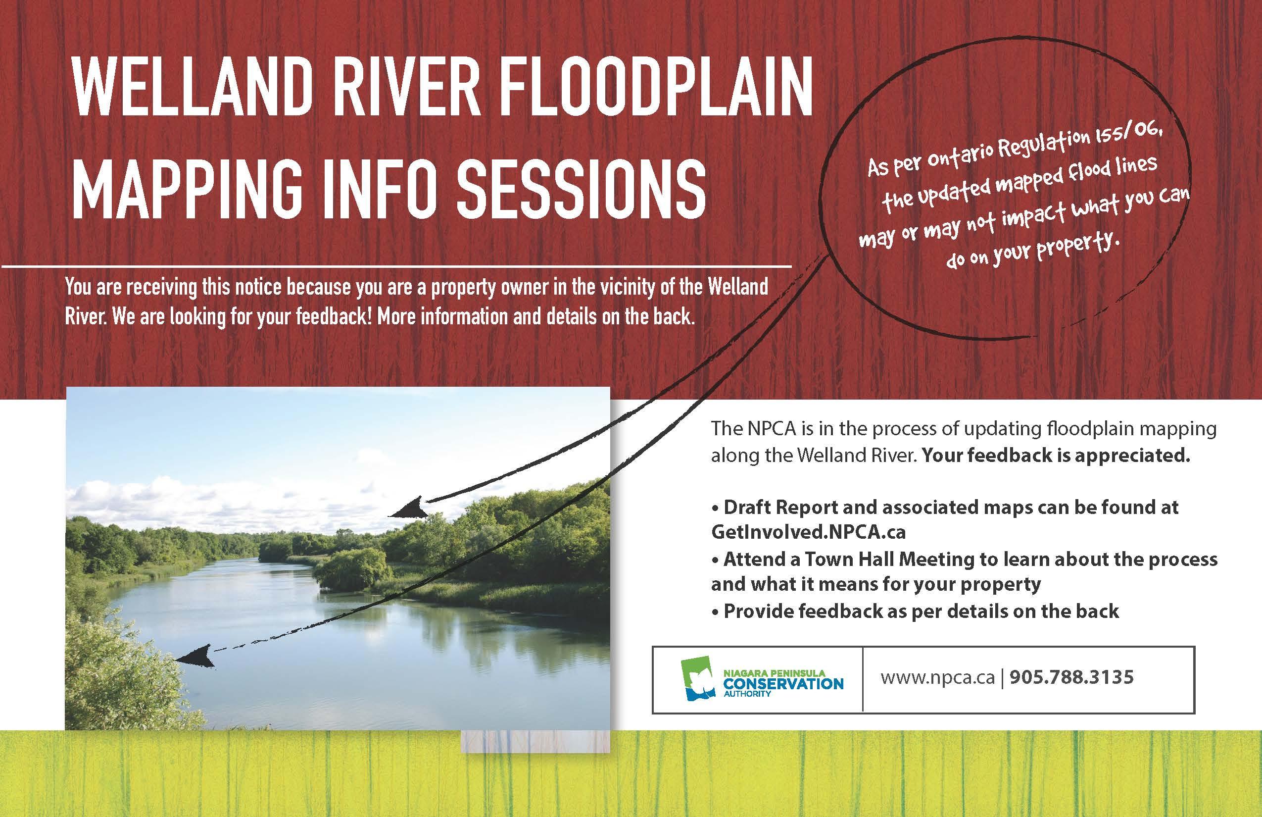 2019 NPCA Welland River Floodplain Mapping Notice 8