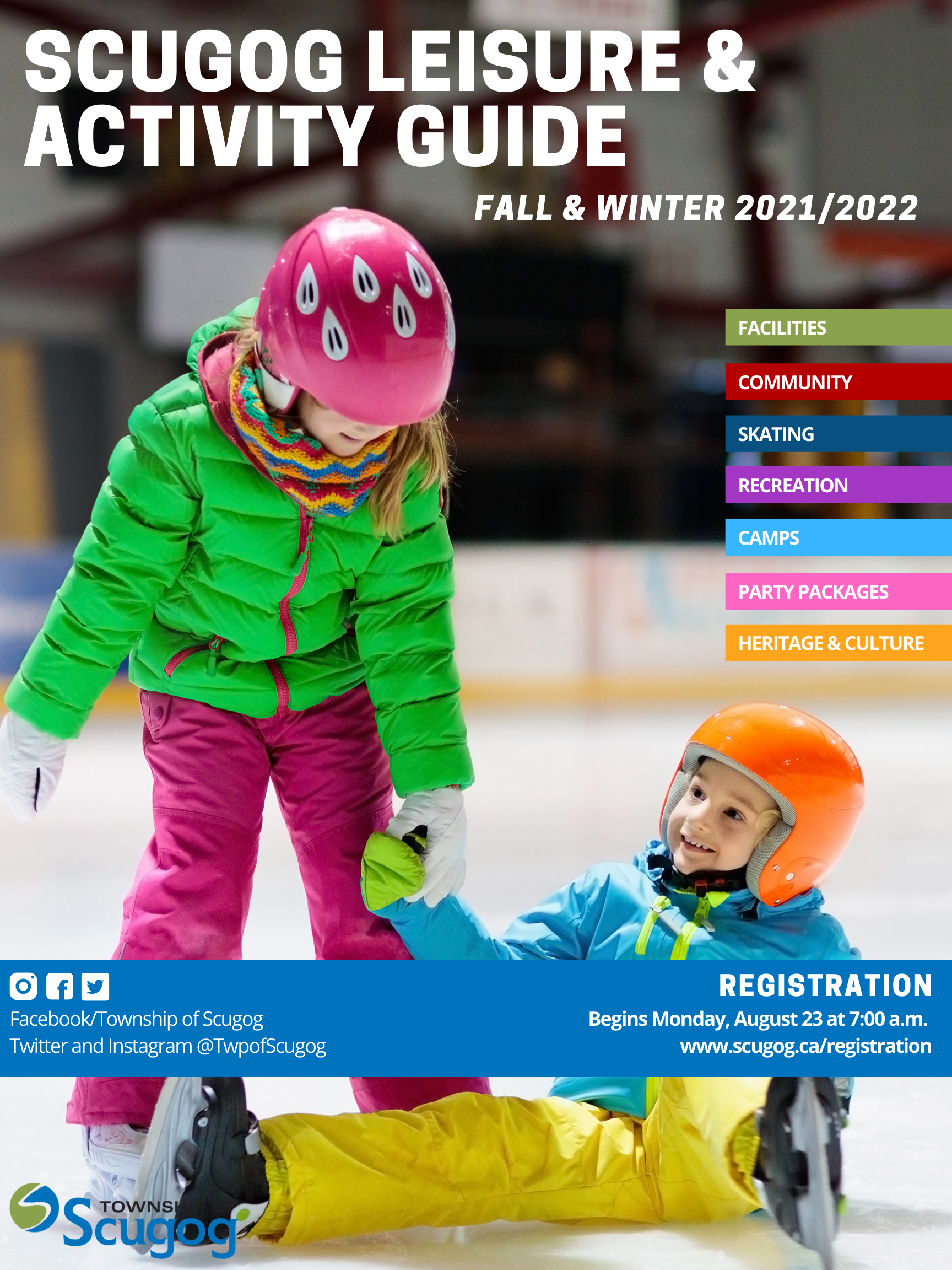 Image of the 2021 Fall/Winter Leisure Guide