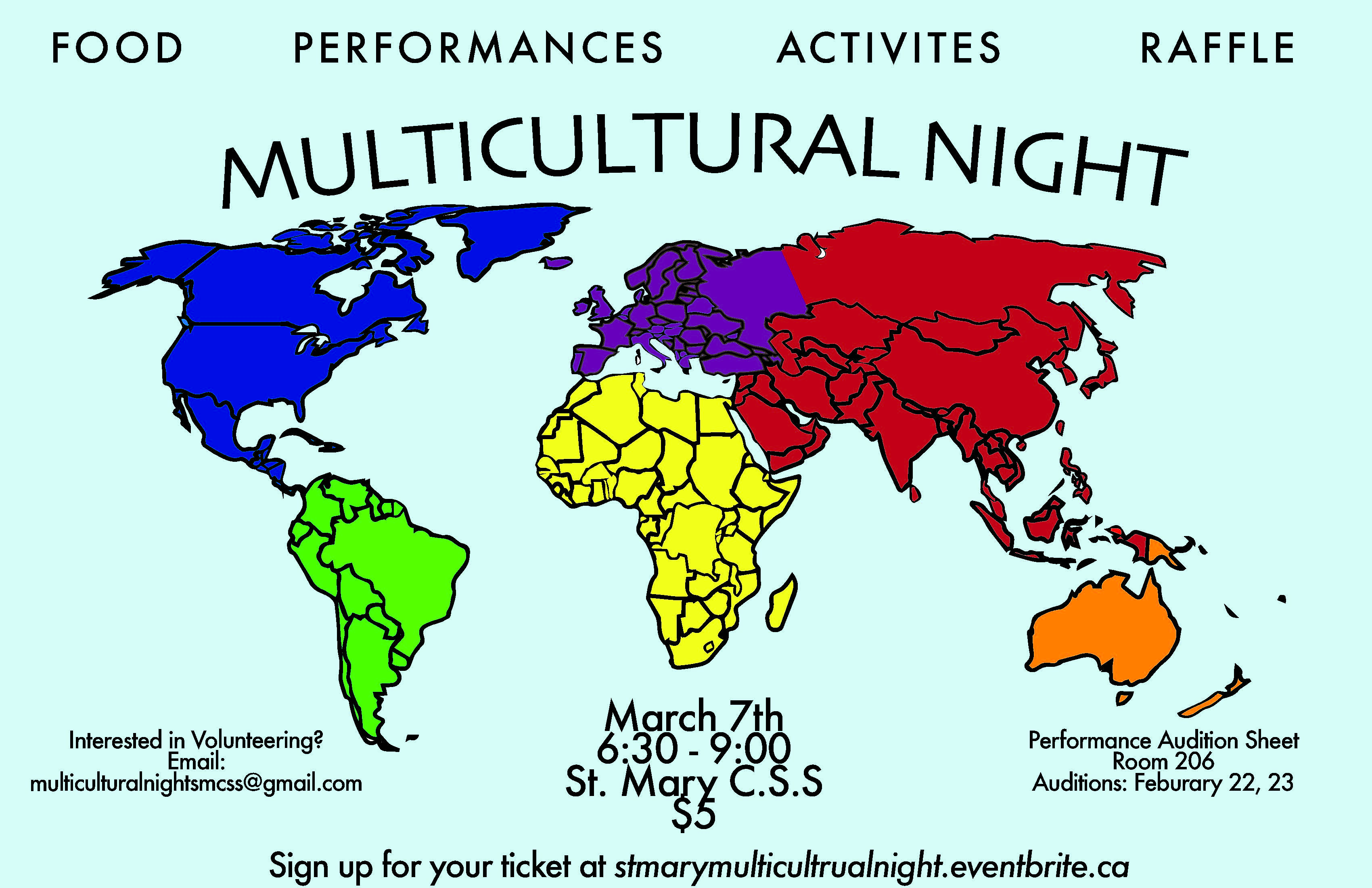 Multicultural Night March 2018