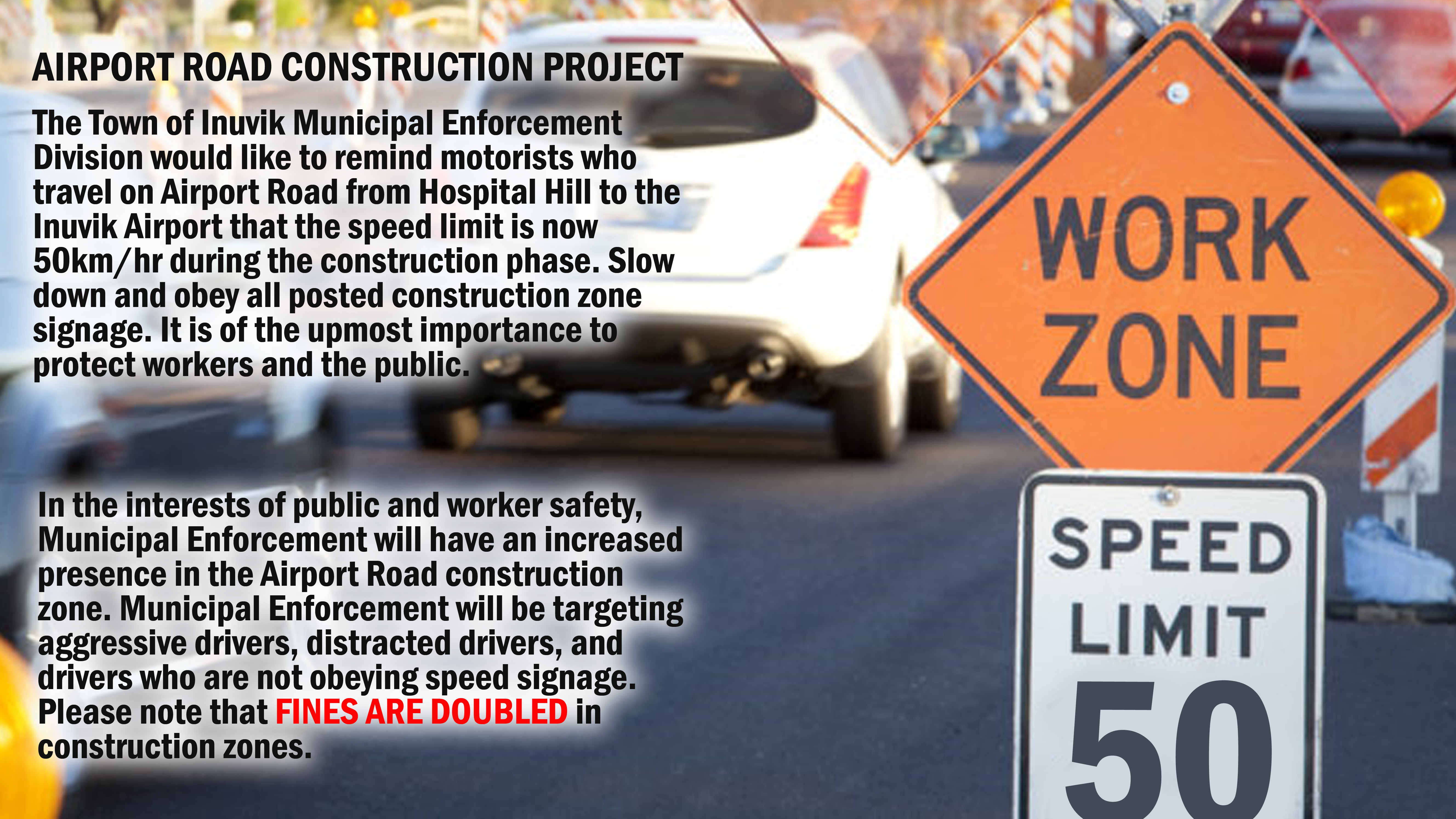 AIRPORT ROAD CONSTRUCTION PROJECT