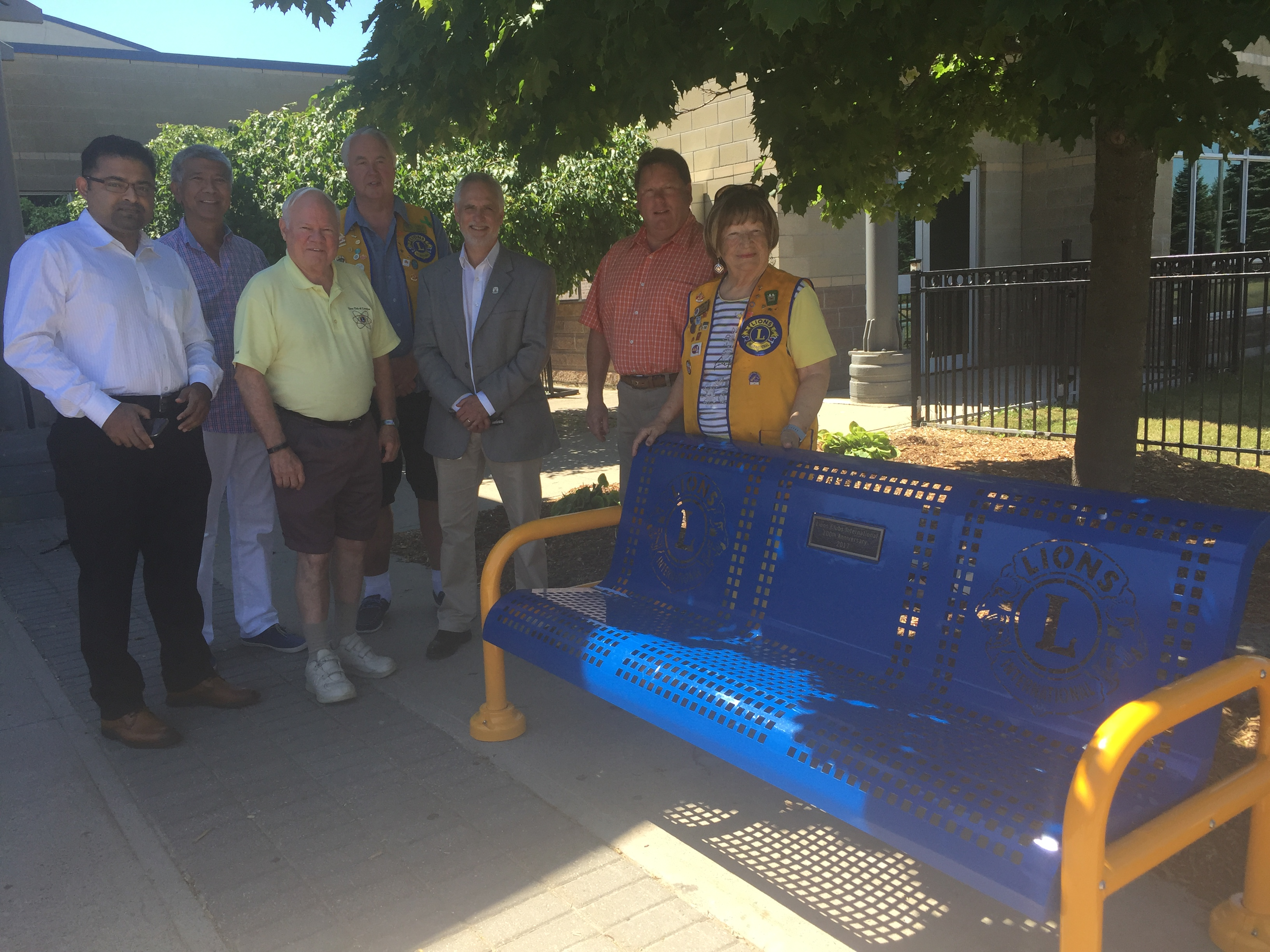Courtice Lions Club benches