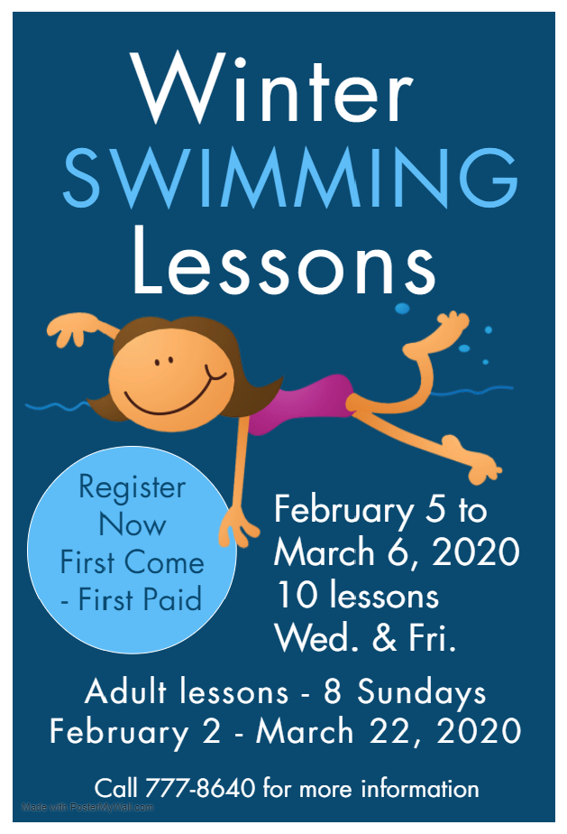 Winter 2020 - Swim Lessons