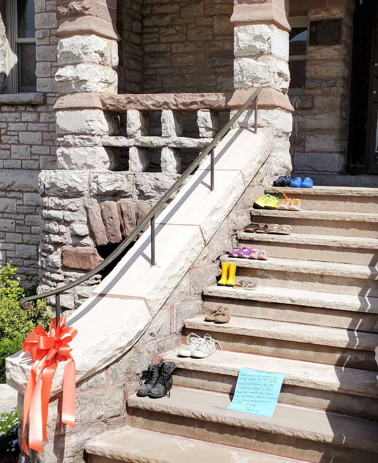 Residential School Memorial at St