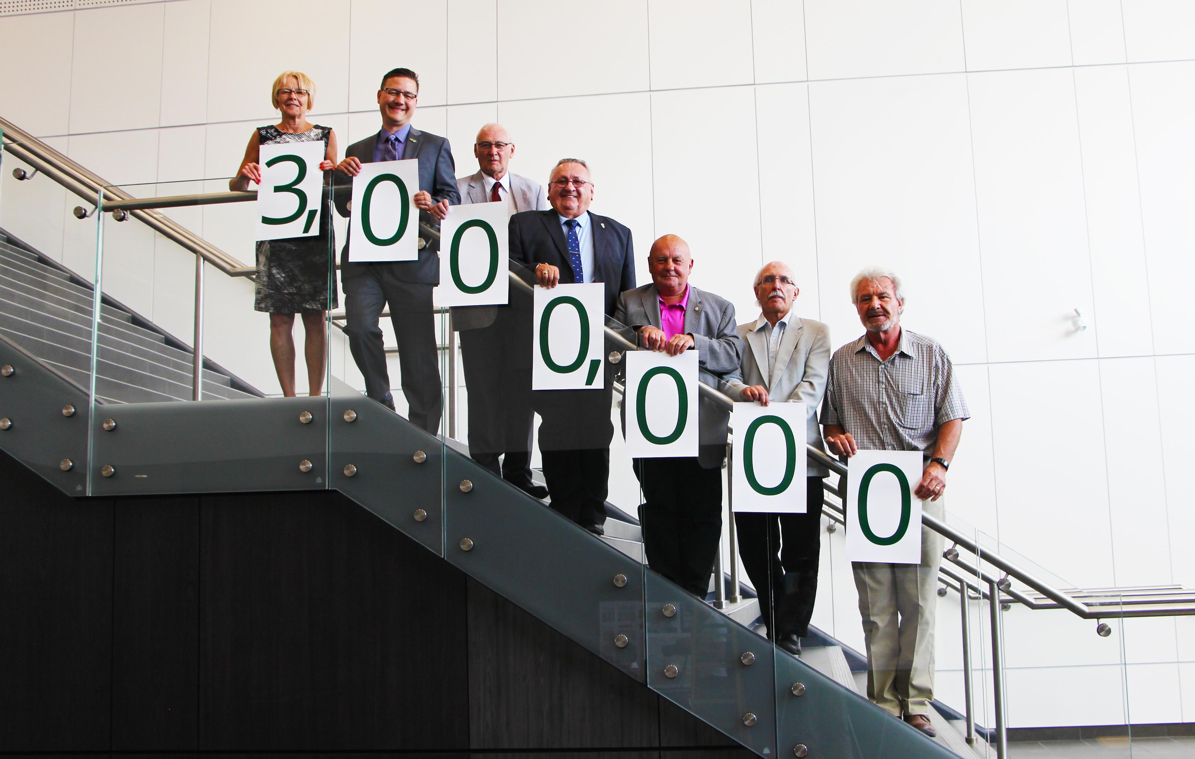 council 3 million