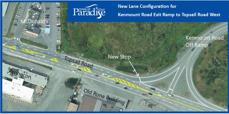 New Lane Configuration