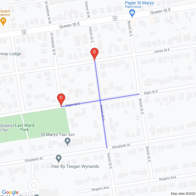 Road Closure at the intersection of Huron Street and Elgin Street E