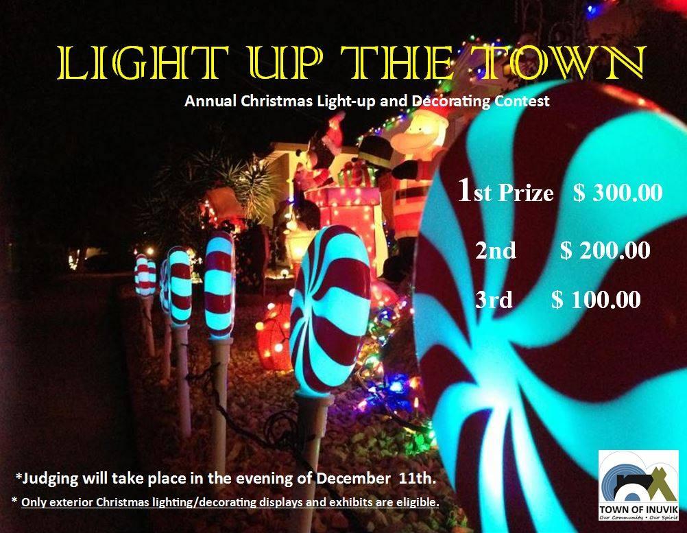 2016 Christmas Light-up & Decorating Contest